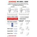 Janome HD1800